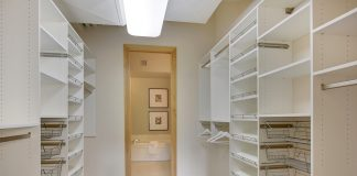 Staging after closet