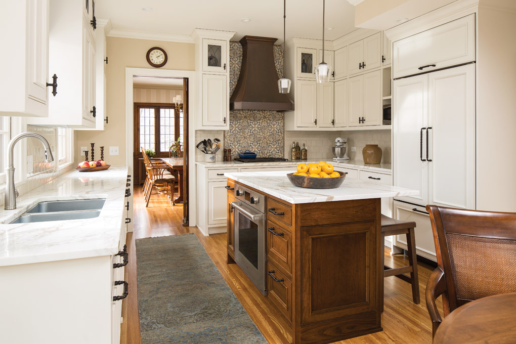 A Minneapolis Tudor Gets An Old World Kitchen Remodel