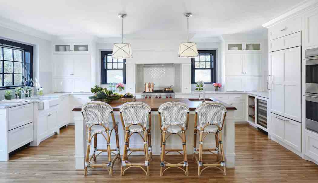 A 1930s minneapolis tudor gets a new kitchen with ample - Interior design classes minneapolis ...