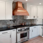 CopperSmith Artisan Range Hood in Kitchen