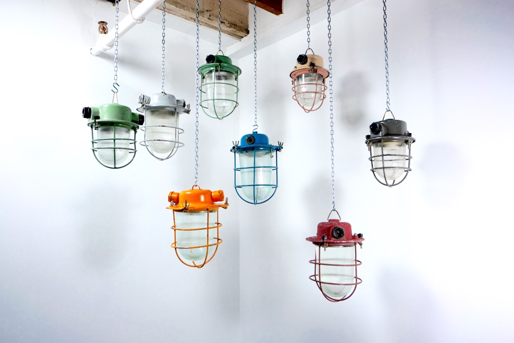 FIXT Electric Lighting colorful hanging collection