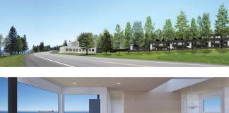 Kiviranta development is characterized by minimalism and open spaces