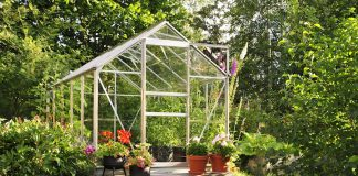 Midwest Home, garden, green house