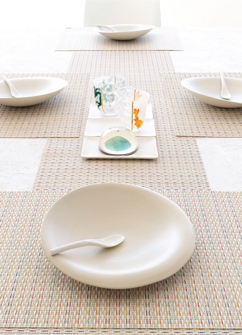 Table settings from Chilewich