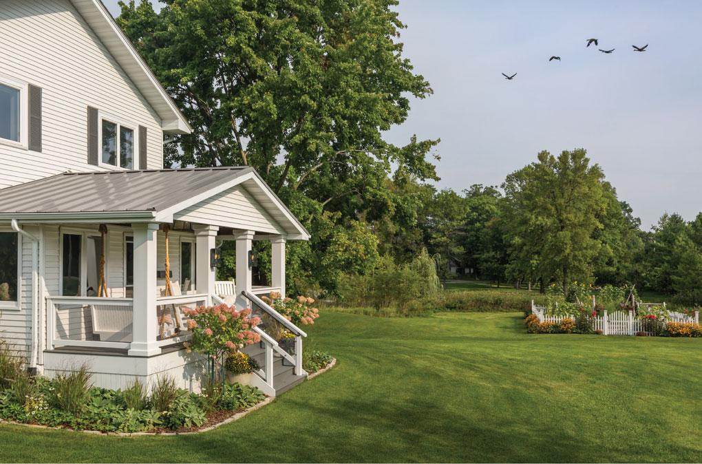 Mod Farmhouse Front Porch