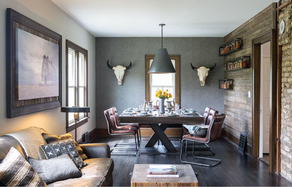 Mod Farmhouse Dining Room