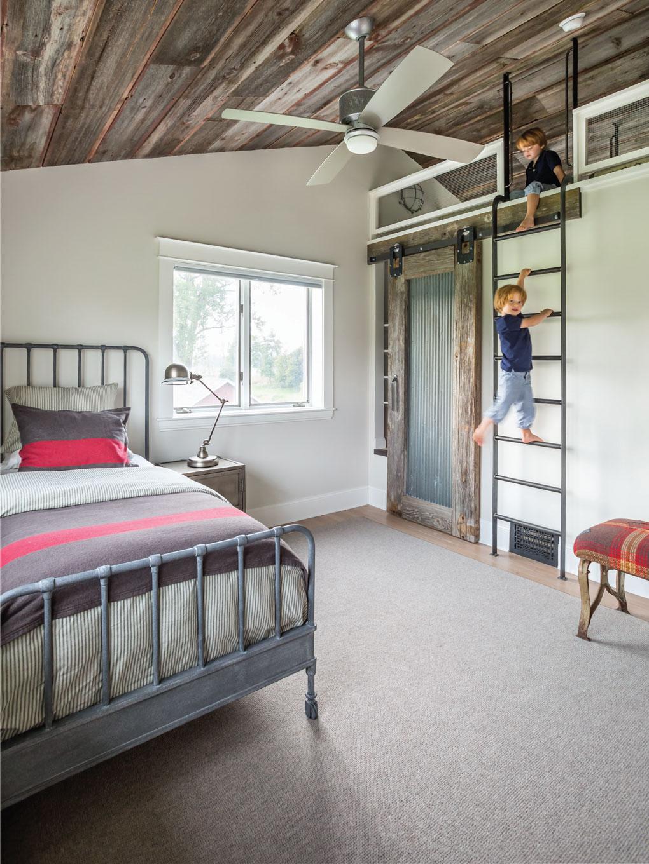 Mod Farmhouse Kid's Loft