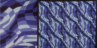 """Rhythmics"" screen print by H. Reiss"