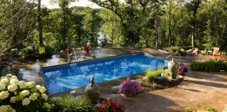 Backyard pool MN