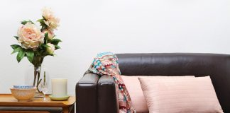 Flower Couch for Designers Up Close