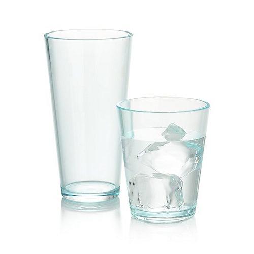 Aqua Acrylic Glasses, $3.95 - $4.95