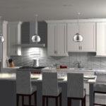 Ispiri Kitchen Remodel of North Loop Condo rendering