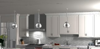 Ispiri Kitchen Remodel of North Loop Condo rendering