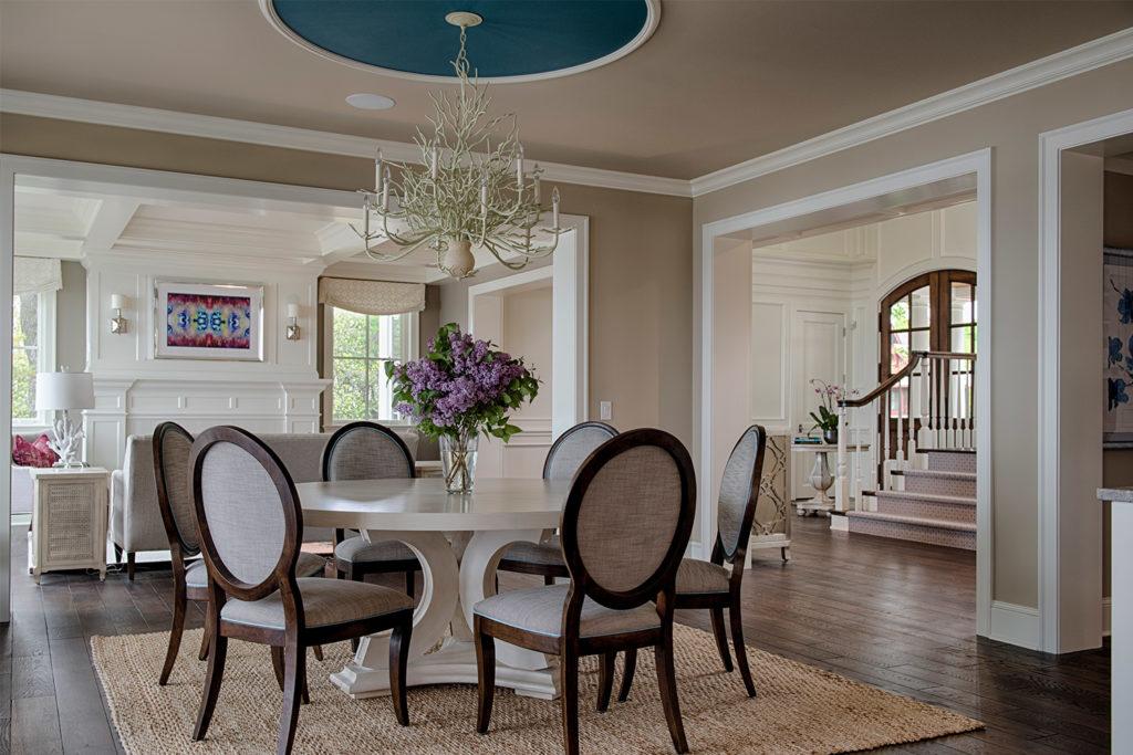 studio M interiors dining room