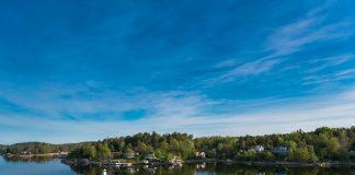 Lake living on a a minnesota lake