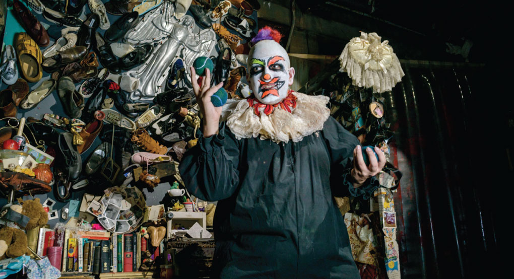 Soap Factory Haunted Basement Clown