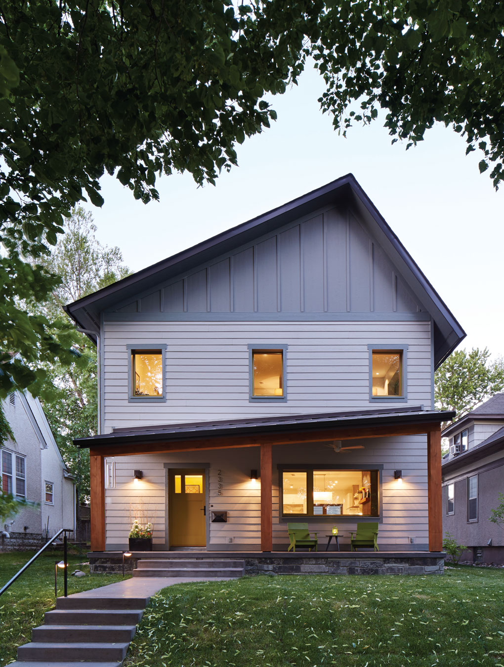 Exterior of Passive House