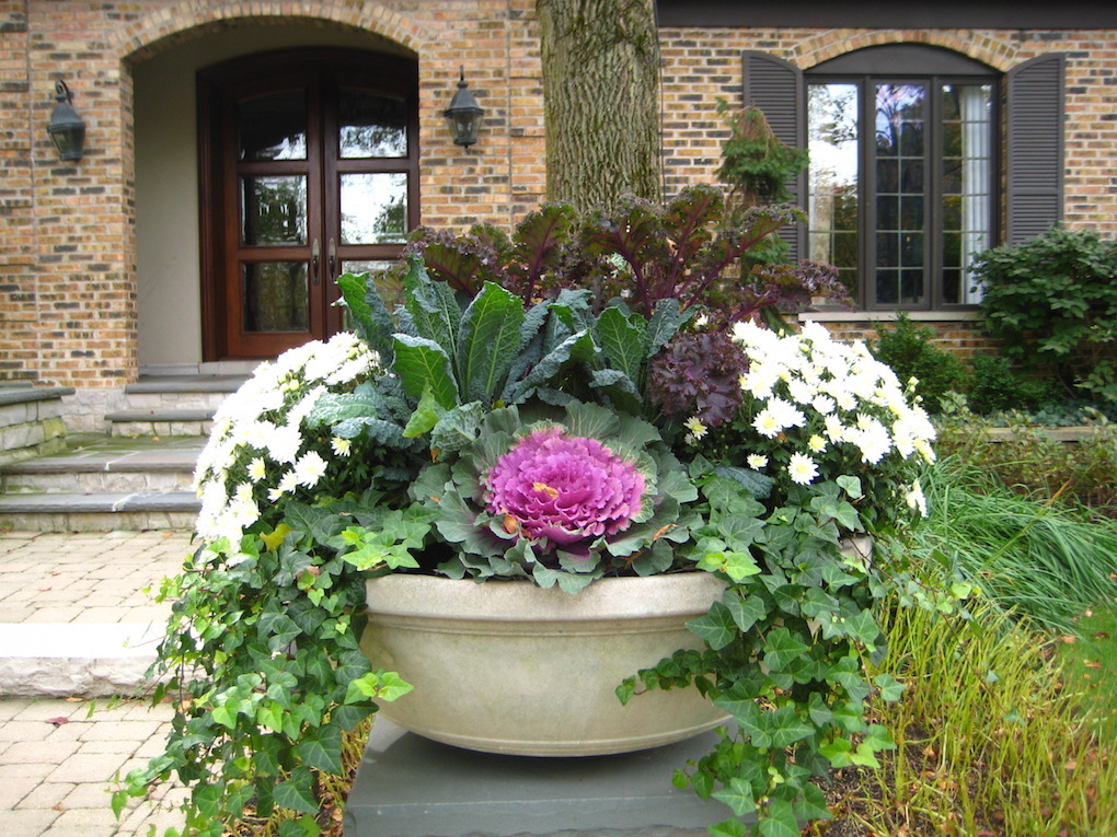Ideas For Your Fall Pots Midwest Home