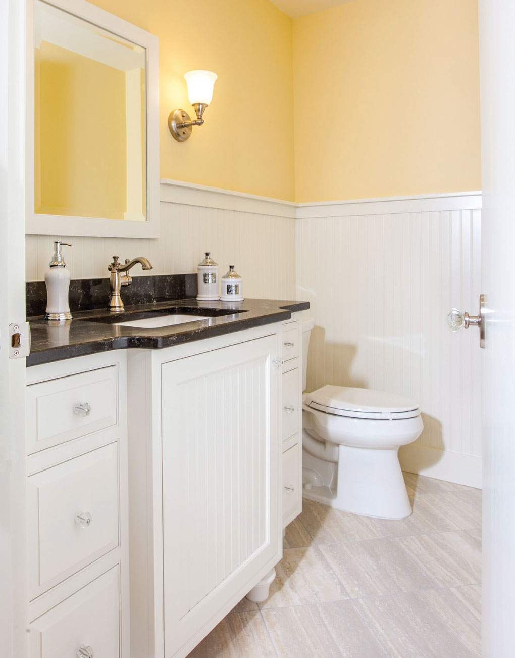 First Place Powder Room + Artisan Materials