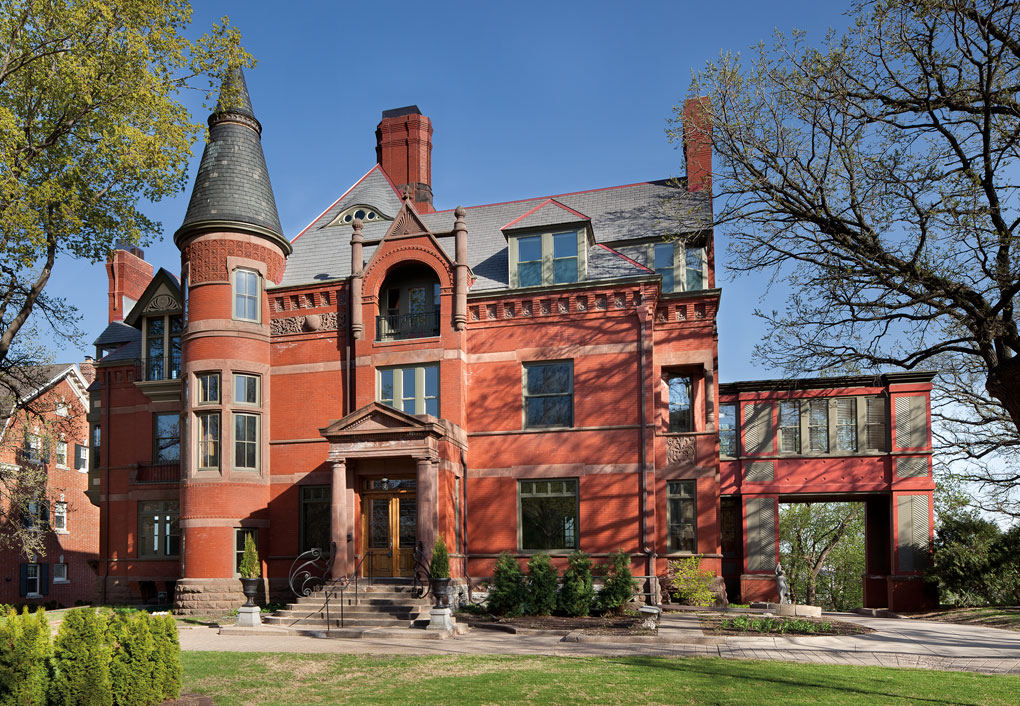 1884 Driscoll-Weyerhaeiser house on Summit Avenue