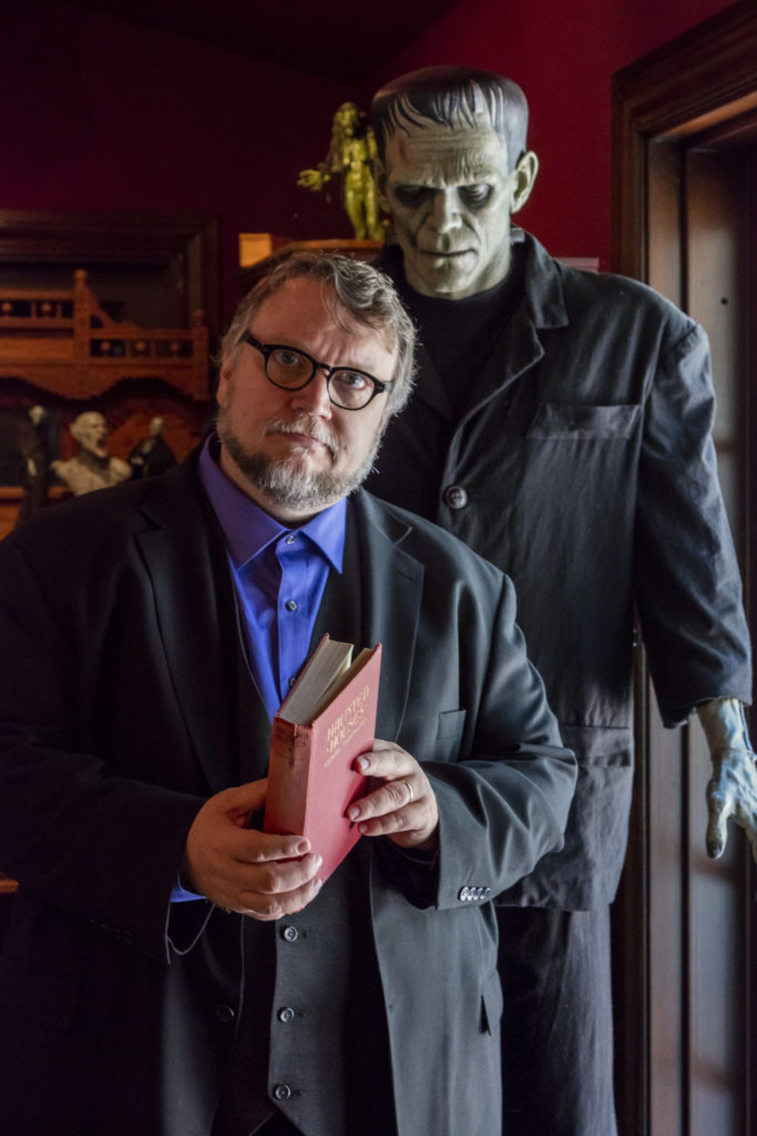 Guillermo del Toro and friend at Bleak House