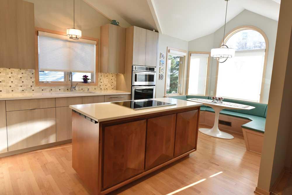 A kitchen designed by Larson Design Build, Inc. on the 2017 ASID Designer Kitchen Tour.