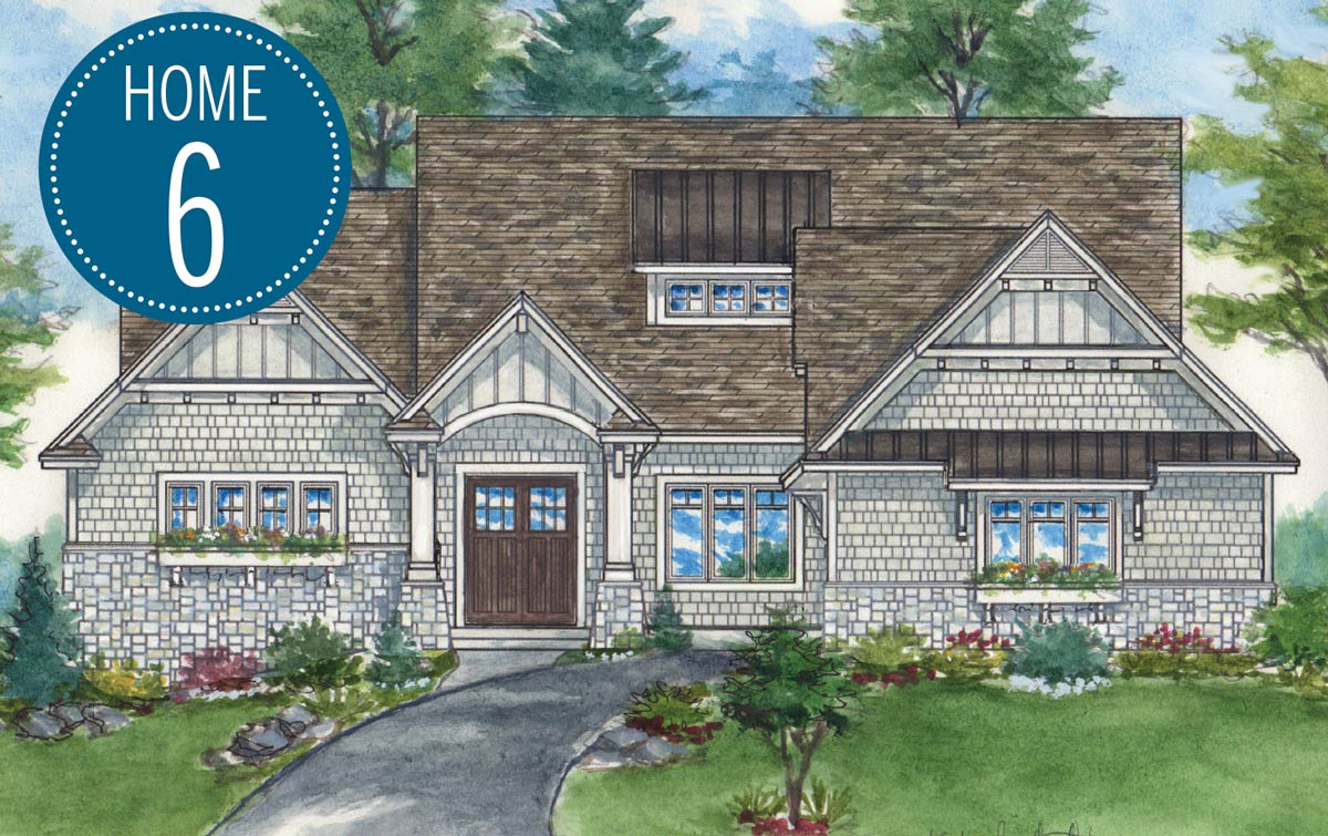 M & M Home Contractors rendering on Luxury Home Tour