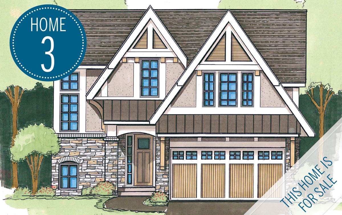 rendering of TJB Homes home on Luxury Home Tour