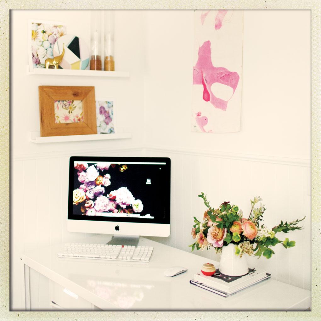 Jackie Reisenauer Munster Rose Desk