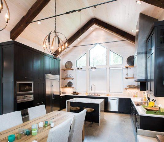 A kitchen by Minnesota Cabinets.