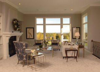 Destiny Homes after living room
