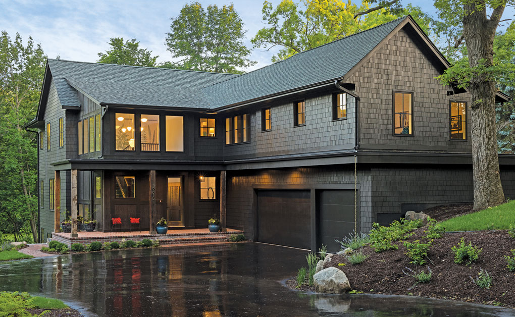 Oregon Coast Inspired Home By Aspect Design Build