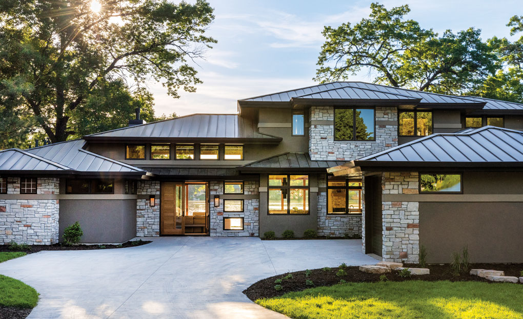 A Prairie Style Home By Bruce Lenzen Design Build Midwest Home