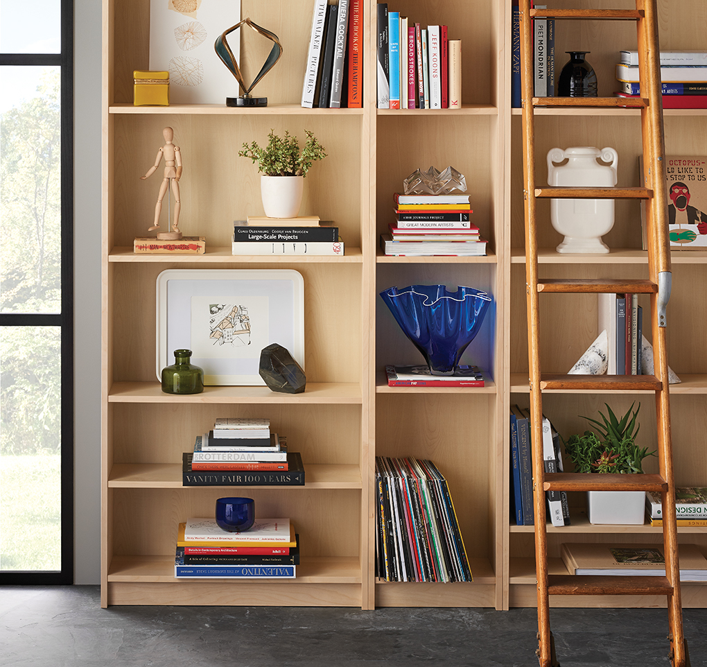 Narrow Bookshelf Styling Book Shelves