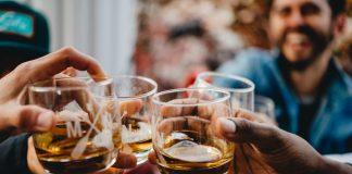 Minnesota cocktail glasses