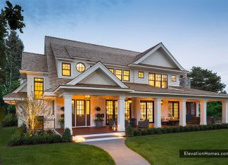 Photo of a home built by Elevation Homes