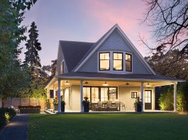 Photo of a home by Rehkamp Larson Architects