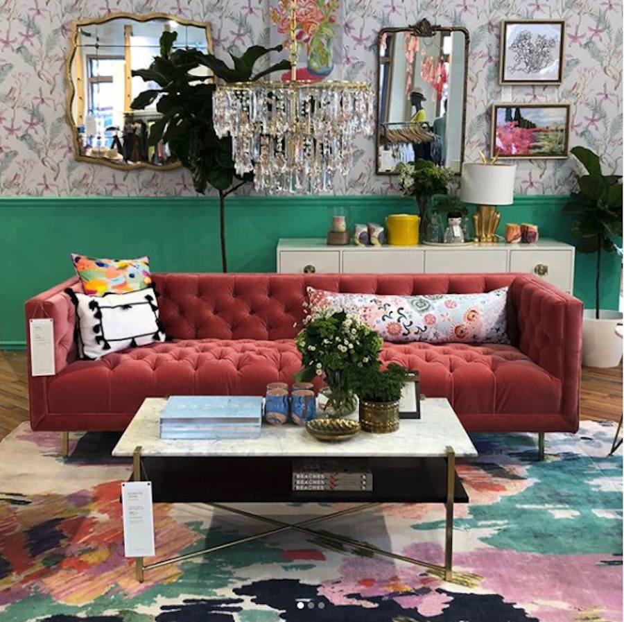Now Open Anthropologie Home Design Center Z Gallerie In