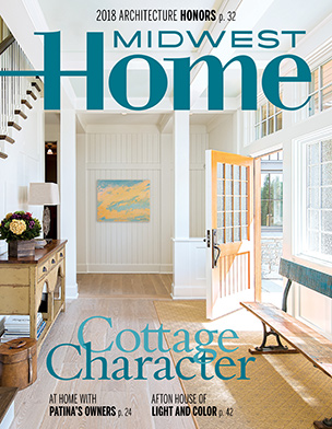 Cover of Midwest Home magazine