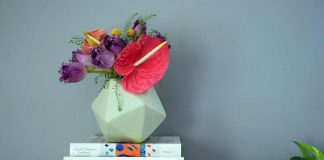 Honeycomb Collective floral arrangement