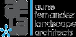 Aune Fernandez Landscape Architects logo