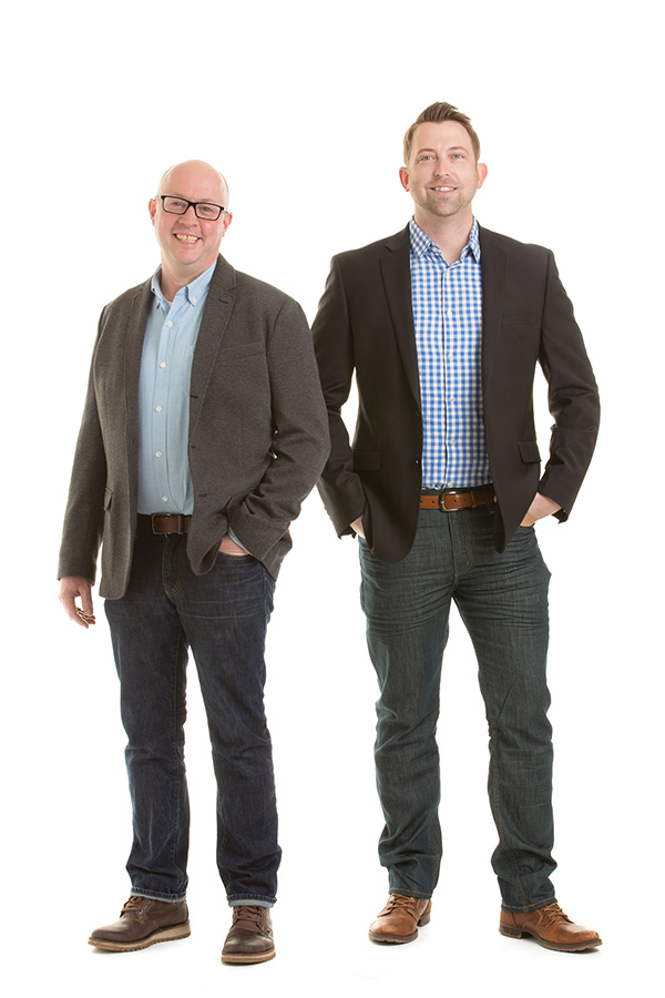 Photo of Ben Richter and Chris Van Klei of Detail Homes