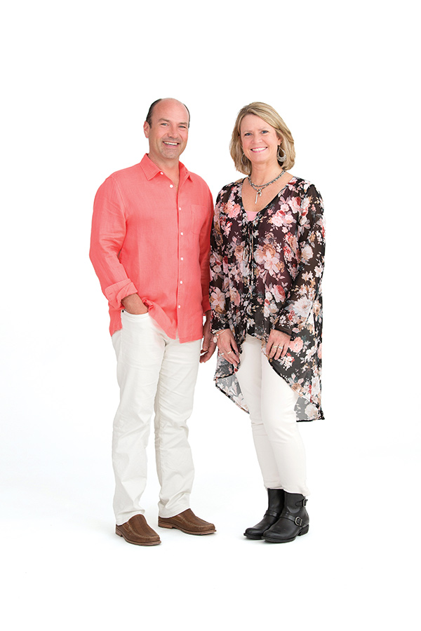 Photo of Jeff Warren and Tami Sherman of Divine Custom Homes
