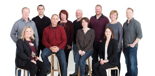 Photo of the Hartman Homes team