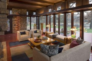 Frank Lloyd Wright remodel by Braden Construction and SALA Architects