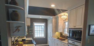 Photo of a renovated kitchen by Maison Kitchen + Bath.