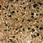 close up of Venetian terrazzo