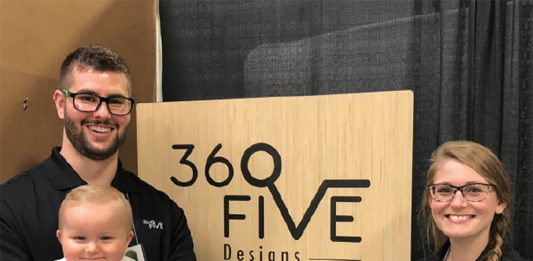 Meagan and Tanner Murchison of 360 Five Designs.