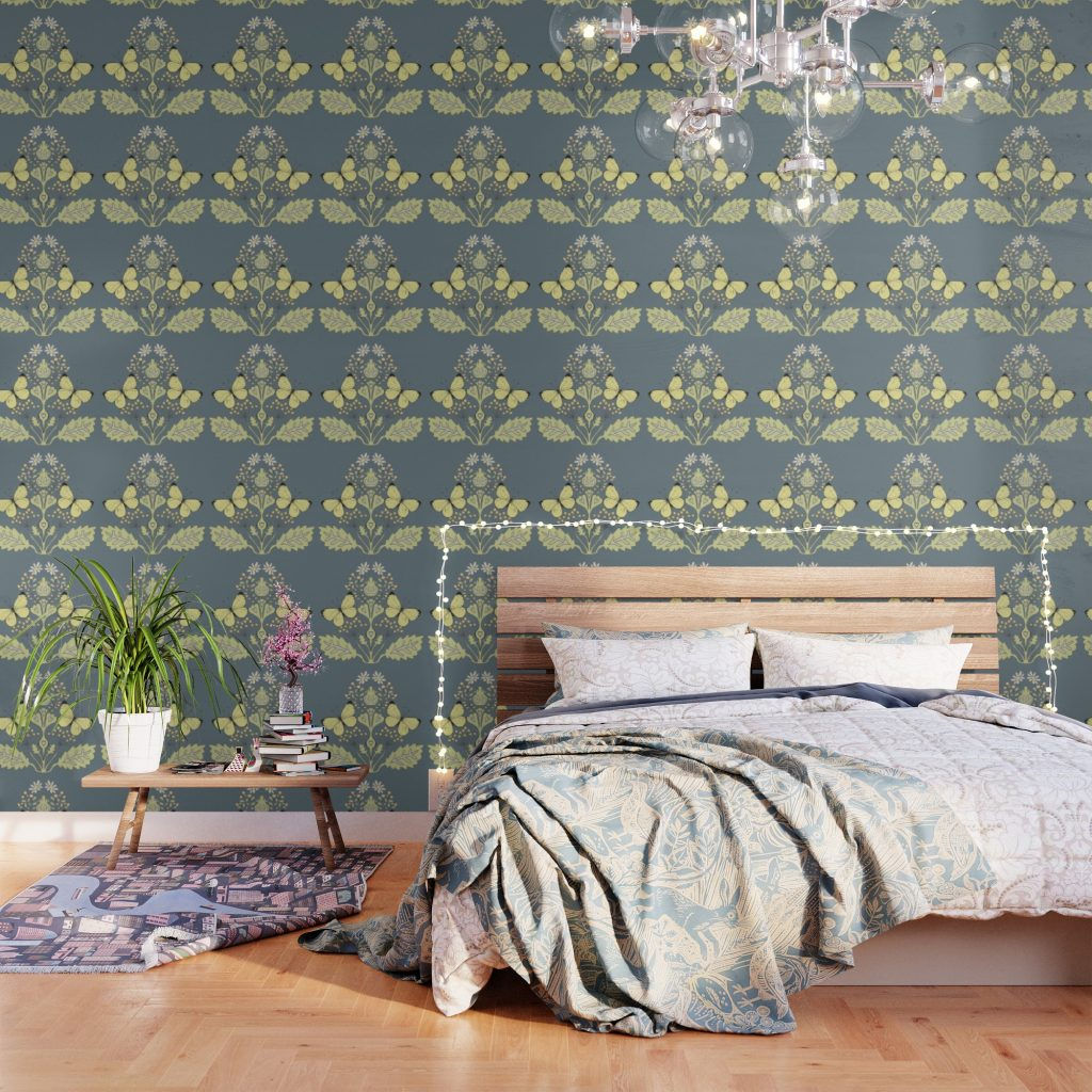 Amy Rice Expands Home Decor Line With Sweet New Wallpapers