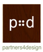 Partners 4 Design logo